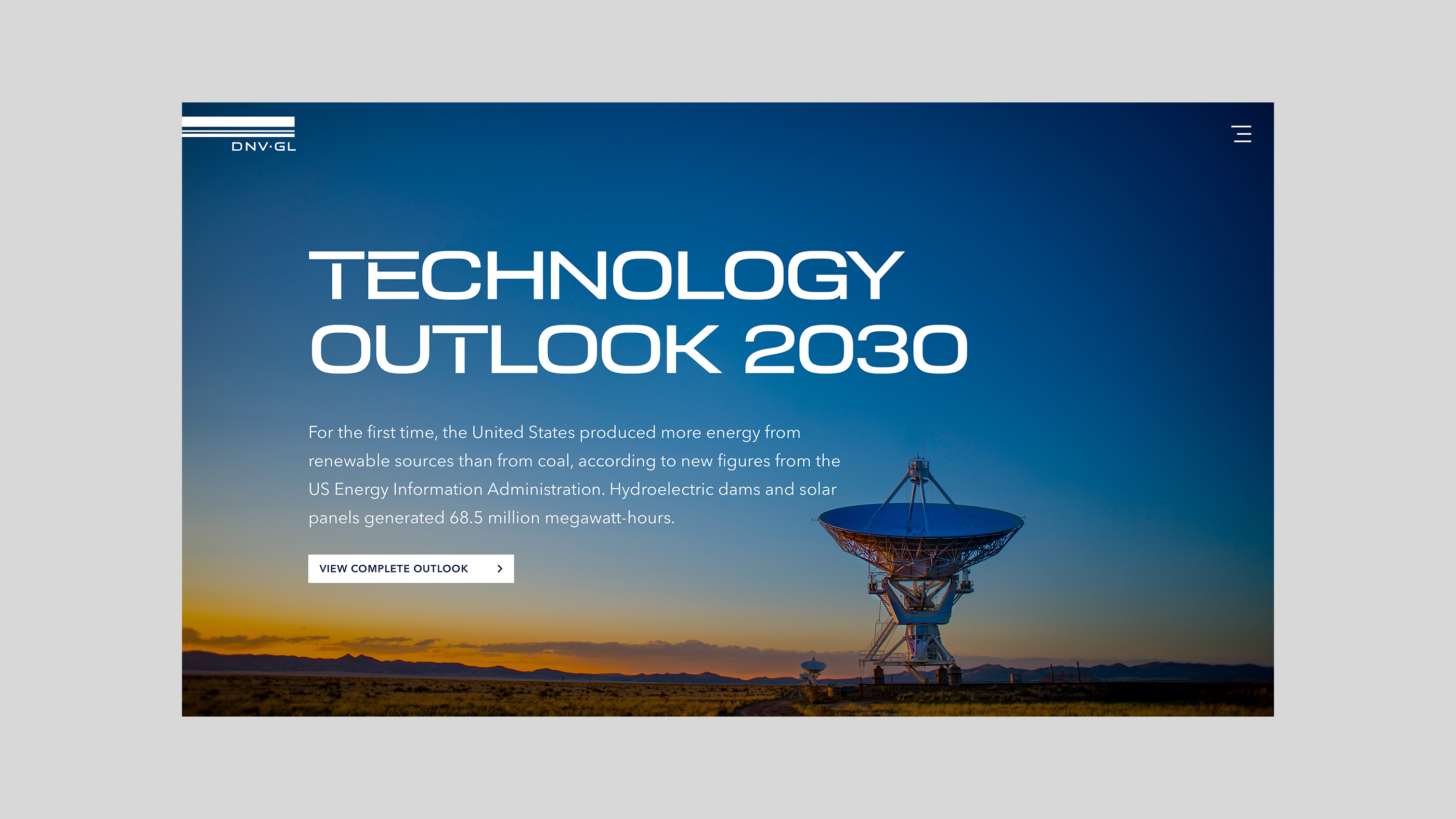 Technology Outlook